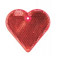 Пешеходный светоотражатель «Сердце»