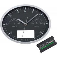 Часы настенные INSERT3 с термометром и гигрометром