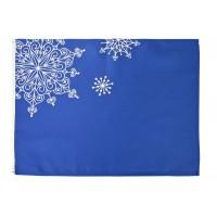 Декоративная салфетка «Снежинки»
