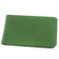 Визитница (34 визитки); зеленый; 12х8 см; искуccтвенная кожа; шелкография
