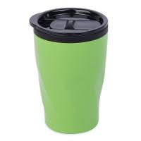 "Термокружка  ""Neon"";  350 мл; зеленый; металл/пластик"