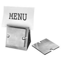 """Набор """"Dinner"""":подставка под кружку/стакан (6шт) и держатель для меню;10"""