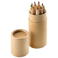 """Набор цветных карандашей (12шт) """"Игра цвета"""" в футляре"""