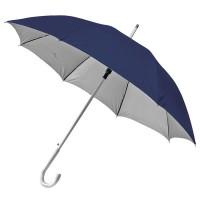 """Зонт-трость с пластиковой ручкой """"под алюминий"""" """"Silver"""""""