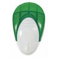 Мемо-холдер на липучке с держателем для авторучки; зеленый; 6