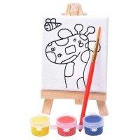 """Набор для раскраски """"Жираф"""":холст"""
