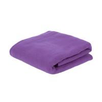 Плед PLAIN; фиолетовый; 100х140 см; флис 150 гр/м2