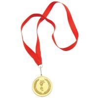 """Медаль наградная на ленте """"Золото""""; 48 см."""