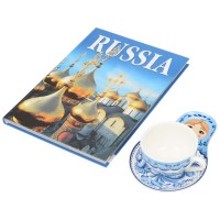 Набор Моя Россия: чайно-кофейная пара Матрешка