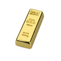 """Флеш-карта """"Слиток золота""""  USB 2.0 на 4 Gb"""