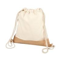 Рюкзак со шнурком из хлопкового джута Delhi