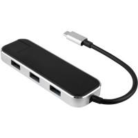 Хаб USB Rombica Type-C Chronos Black