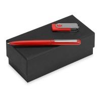 Подарочный набор Skate Mirro с ручкой для зеркальной гравировки и флешкой