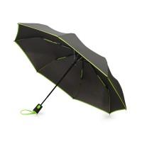 Зонт-полуавтомат складной Motley с цветнами спицами