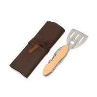 BBQ мультитул Blade 5в1 с деревянными ручками