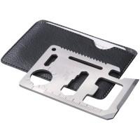 Инструмент многофункциональный в форме карты в чехле