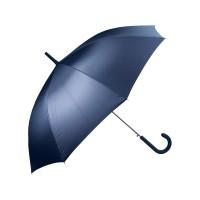 Зонт-трость полуавтомат с прорезиненной ручкой