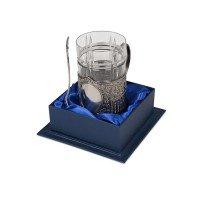 Подстаканник с хрустальным стаканом Базовый-М