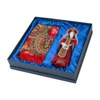 Подарочный набор «Евдокия»: кукла, платок