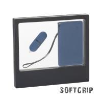 """Подарочный набор """"Камень"""" с покрытием soft grip на 2 предмета"""
