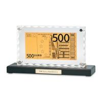 """""""Банкнота 500 Euro"""" в стекле"""