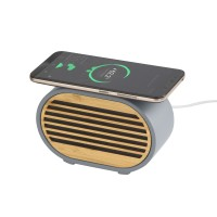 """Bluetooth колонка """"Stonehenge"""" 5Вт с беспроводным зарядным устройством"""