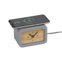 """Часы """"Stonehenge"""" с беспроводным зарядным устройством"""