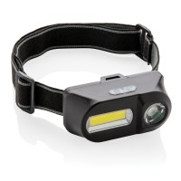 Налобный фонарь COB (Chip-on-Board) и LED